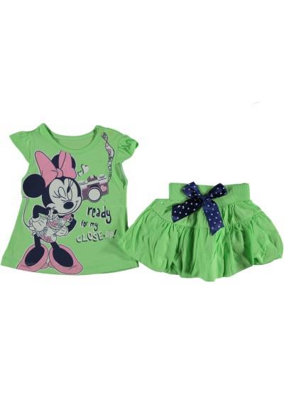 Minnie μπλούζα φούστα