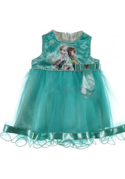 Frozen φόρεμα φόρεμα Μπλε
