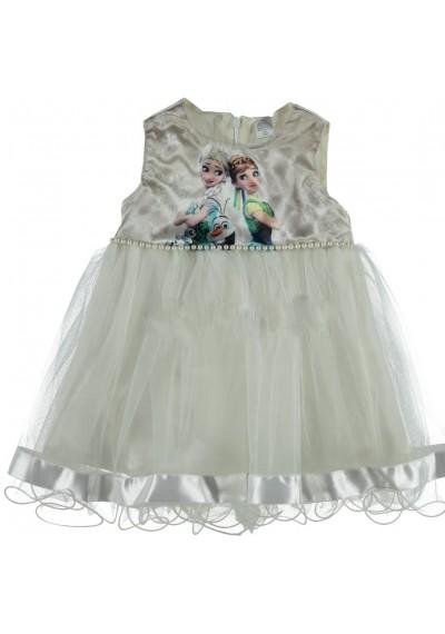 Frozen φόρεμα λευκό