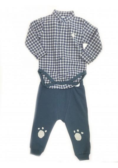 Lulubay Κορμάκι πουκάμισων σετ