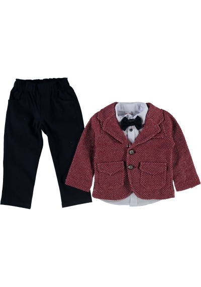 Luluby κοστούμι αγόρι κόκκινο