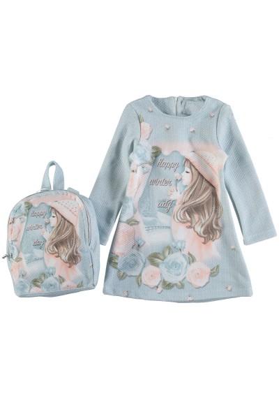 LT Σχεδιασμός φόρεμα με τσάντα