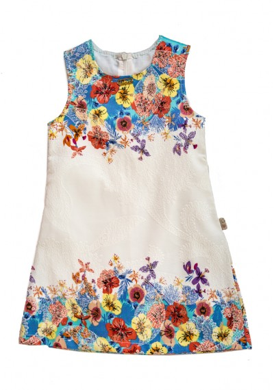 Rossa Flower Blossom Dress