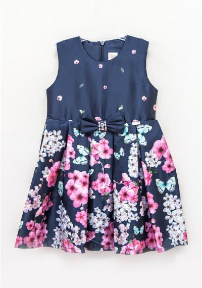 Lilax Romantic σατέν φόρεμα