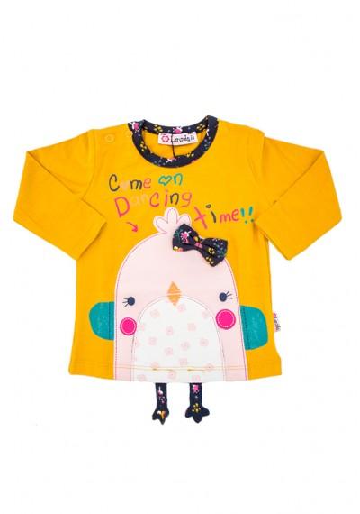 οργανικά γλυκό νεοσσών  μπλούζα