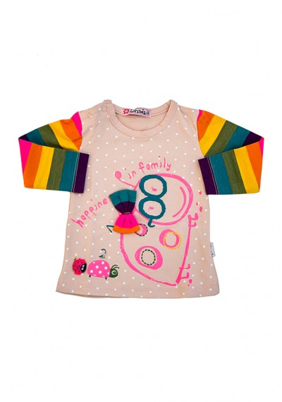 Farma οργανικά μπλούζα μωρών
