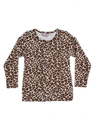 λεοπάρδαλη βαμβάκι ζακέτα