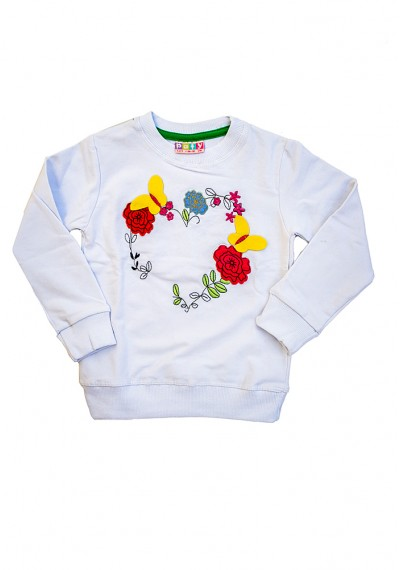 Flower Sweat Shirt