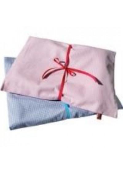 Σετ για παιδικό κρεββάτι από βαμβάκι Οxford -γαλάζιο– Djou Djo