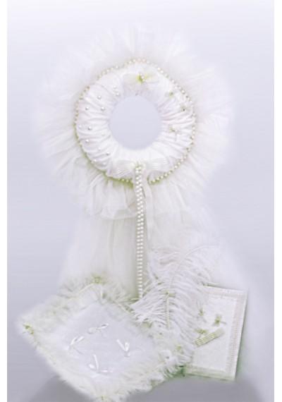 Σετ διακόσμησης Λευκό Μαργαριτάρι για αγόρια / κο&