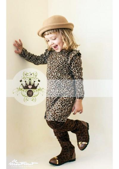 Leopard φόρεμα