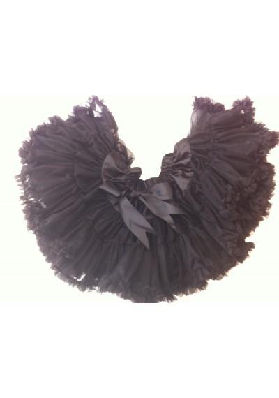 Petti φούστα σκούρο μοβ