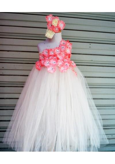 Ivory Flower Tutu Dress